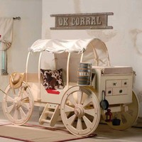 Chuckwagon Toddler Bed