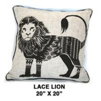 Lace Lion Oatmeal / Black