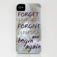 Begin again iPhone & iPod Case by Irène Sneddon