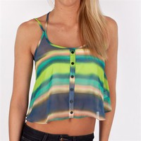 Soprano Juniors Sheer Cropped Cami at Von Maur