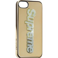 Supreme: Supreme/Incase® Bling Logo iPhone 5 Case - Gold