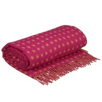 Buy Bronte Spot Throws, Orange / Pink online at JohnLewis.com - John Lewis