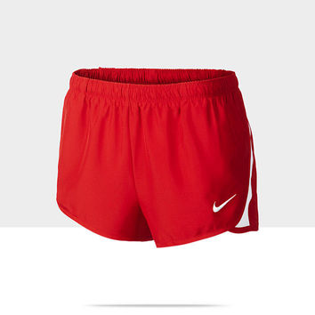 Nike Dash Women's Track and Field Shorts - Team Scarlet