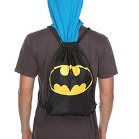 DC Comics Batman Hooded Cinch Back Sack | Hot Topic