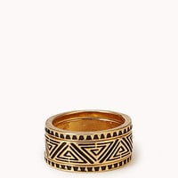 Zigzag Ring Set | FOREVER 21 - 1058876345