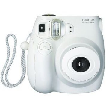 Fujifilm Instax MINI 7s White Instant Film Camera