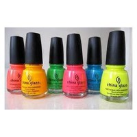 China Glaze Poolside Collection 6pcs: Beauty