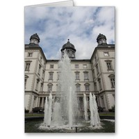 Bensberg Palace in Bergisch-Gladbach Greeting Card from Zazzle.com