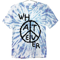 Whatever Slime Punk Tie Dye T-Shirt UNISEX Sizes S - 2XL