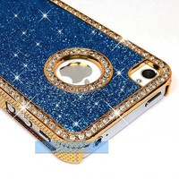 Diamond Rhinestone Crystal Bling Case iPhone