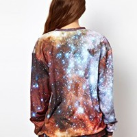 Mr. Gugu & Miss Go Galactic Sweatshirt at asos.com