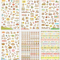 Lovely Cat Sticker - 6 Sheets