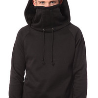 ARSNL Kino Ninja Hoodie in Black FleeceMade in the USA