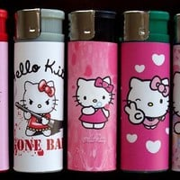 5 Hello Kitty Refillable Lighters:Amazon:Everything Else