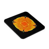Orange Explosion Coaster from Zazzle.com