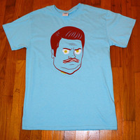 Bacon & Eggs Shirt in Sky Blue - Men's Size XL