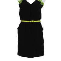 black and neon dress - Shop Pop Shopping Cart