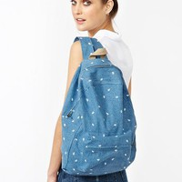 Paisley Denim Backpack in Clothes The Beach Shop at Nasty Gal