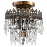 One Kings Lane - Chic Greeting - Alpine Semi-Flush Mount