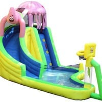Sportcraft SpongeBob and Friends Waterslide with Sports Center:Amazon:Sports & Outdoors