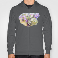 Lilacs bouquet Hoody by Vargamari