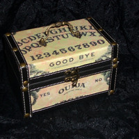 Ouija Board purse STEAMPUNK box purse