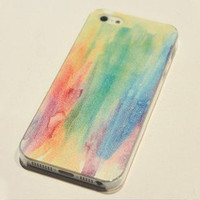 shego shopping mall — Cool Rainbow Painting Hard Cover Case For Iphone 4/4s/5