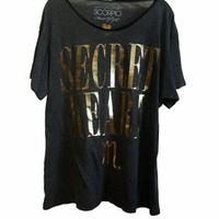 Wildfox Heart of Gold Scorpio Astrology Unisex Tee in Black