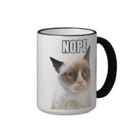 Grumpy Cat™ NOPE Mug from Zazzle.com