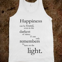 Harry Potter Happiness tanktop
