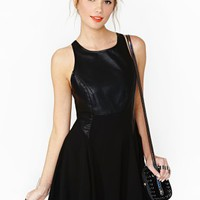 Nasty Gal Tempt Darkness Dress