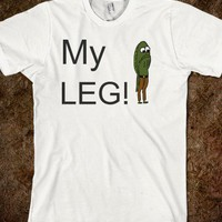 My Leg! (Style #2) - What I Learned in Boating School Is - Skreened T-shirts, Organic Shirts, Hoodies, Kids Tees, Baby One-Pieces and Tote Bags