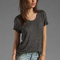 rag & bone/JEAN The Pocket Tee in Charcoal from REVOLVEclothing.com