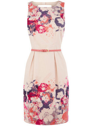 Oasis Shop | Multi Lantern Blossom Print Dress | Womens Fashion Clothing | Oasis Stores UK