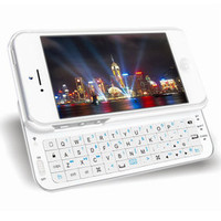 brilliant — Slding keyboard Iphone 4/4s Cover Case