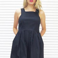 Dress Juliana Full Skirt Black