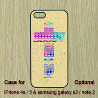 Aztec Cross -- iPhone 4 case ,BlackBerry Q10 case ,iPhone 5 case ,Samsung Galaxy S3 case ,Samsung Galaxy S4 case ,Samsung Galaxy Note2 case
