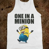 ONE IN A MINION - underlinedesigns