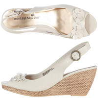 Payless, Women's Tootsy Flower Mid-Wedge Sling, Women's