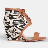 Animal Instinct Wedges - $45.00 : ThreadSence, Women's Indie & Bohemian Clothing, Dresses, & Accessories
