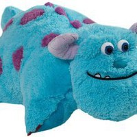 Amazon.com: Pillow Pets 18-Inch Square Pillow, Large, Sulley: Home & Kitchen