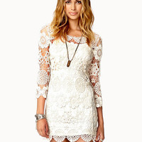 Crochet Lace Mini Dress | FOREVER 21 - 2039697443