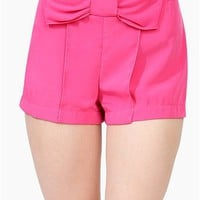 Gossip Chick Short - Fuschia
