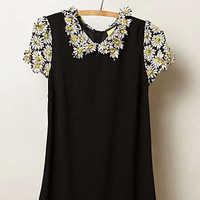 Anthropologie - Fluttered Daisy Top