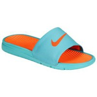 Nike Benassi Solarsoft Slide - Men's at Foot Locker