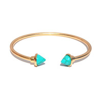 Turq Tips Cuff | Jeweliq Fashion Bracelets