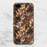 iPhone 5 case - Grungy Glitter : beige patterns - iPhone 5 Case, Cases for iPhone 5, Hard iPhone 5 Case