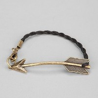 Curved Arrow Bracelet