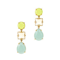 Neon drop earrings - earrings - Women's jewelry - J.Crew