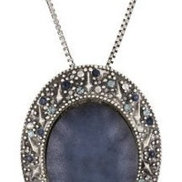 "Rachel Leigh ""Adorned"" Midnight Statement Pendant Necklace"